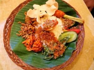 Indonesian Food - Nasi Padang