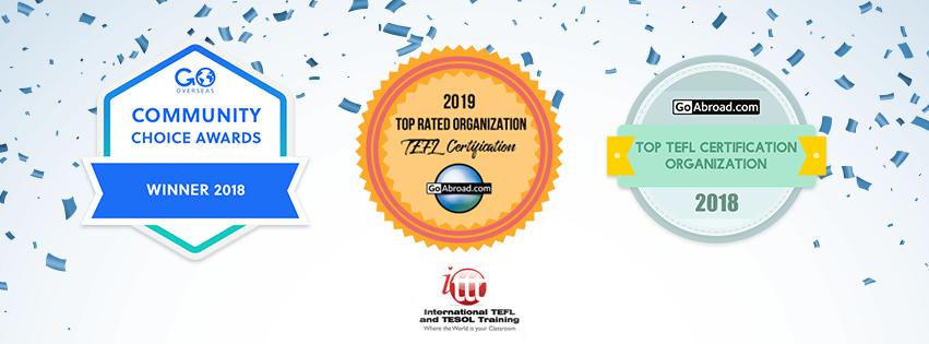 ITTT TEFL awards